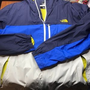 North Face Men's xxl zip jacket